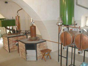 Destilační zařízení pálenice