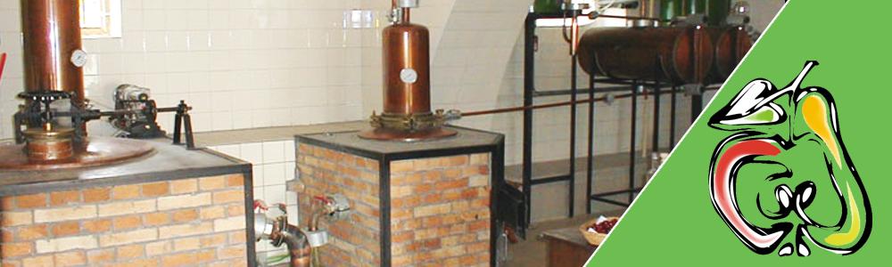 Dvou kotlová destilační aparatura