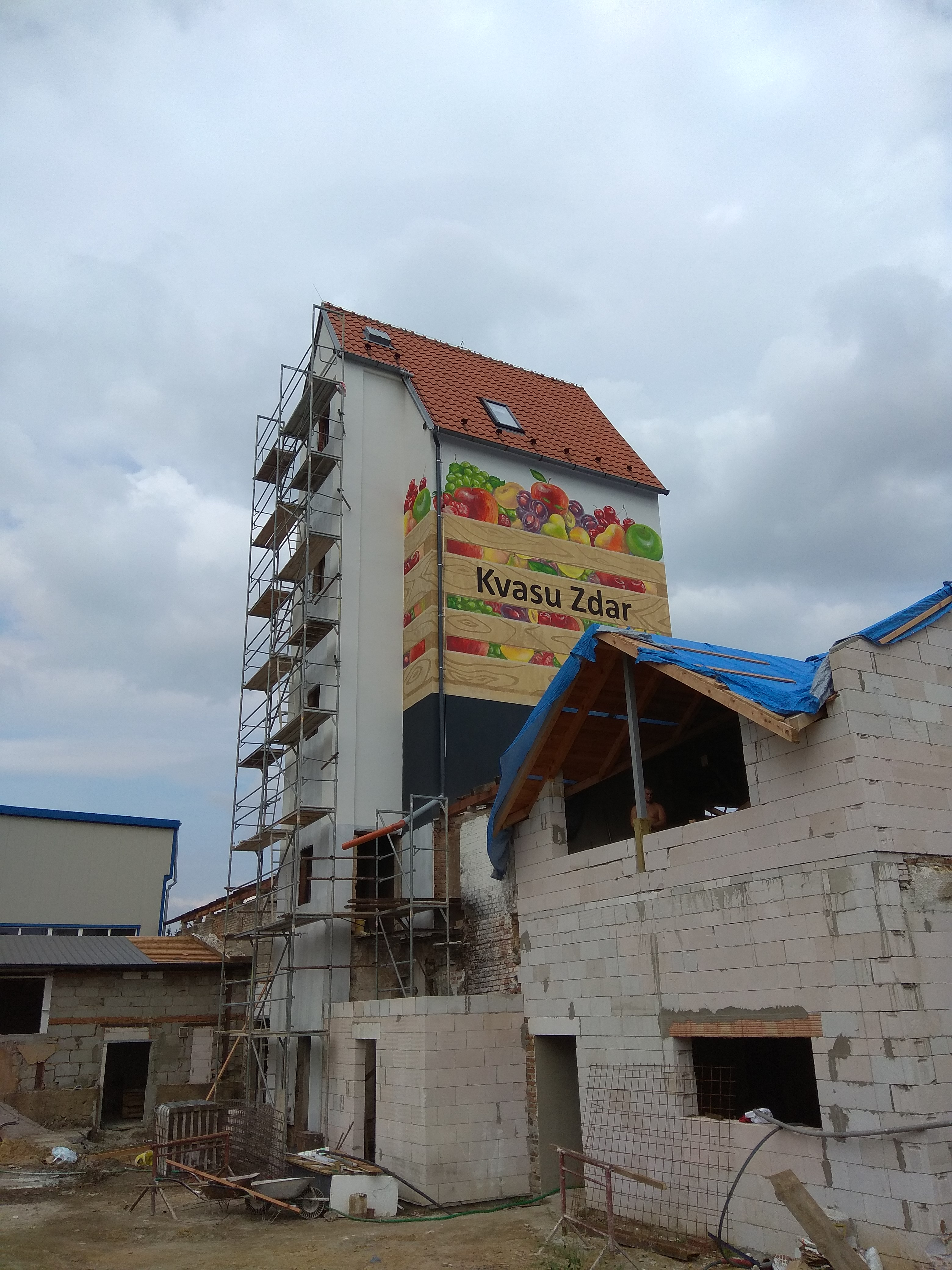 stavba kvasu zdar