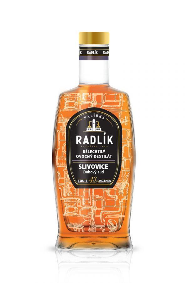 Slivovice dubový sud Palírna Radlík